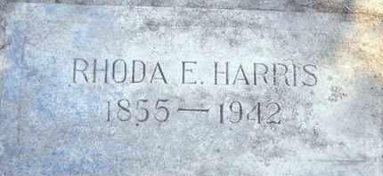 HARRIS, RHODA E. - Sutter County, California | RHODA E. HARRIS - California Gravestone Photos