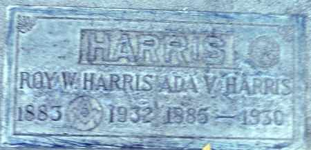 HARRIS, ADA V. - Sutter County, California | ADA V. HARRIS - California Gravestone Photos