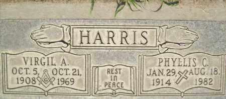HARRIS, VIRGIL ALBERT - Sutter County, California   VIRGIL ALBERT HARRIS - California Gravestone Photos