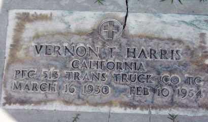 HARRIS, VERNON THOMAS - Sutter County, California | VERNON THOMAS HARRIS - California Gravestone Photos