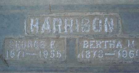 HARRISON, GEORGE E. - Sutter County, California | GEORGE E. HARRISON - California Gravestone Photos