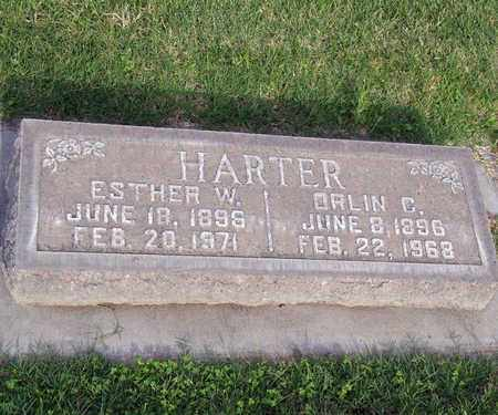 HARTER, ESTHER MAE - Sutter County, California | ESTHER MAE HARTER - California Gravestone Photos