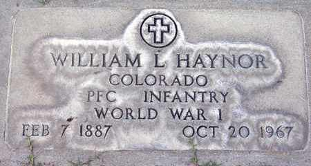 HAYNOR, WILLIAM L. - Sutter County, California | WILLIAM L. HAYNOR - California Gravestone Photos