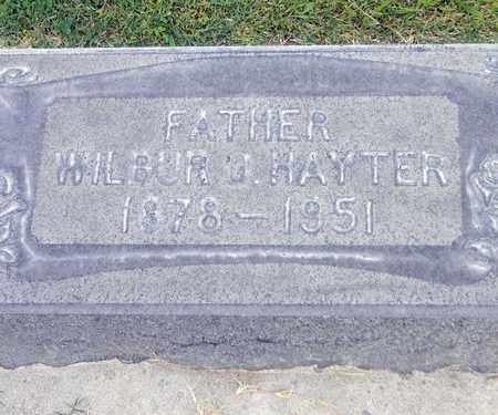 HAYTER, WILBUR OREN - Sutter County, California | WILBUR OREN HAYTER - California Gravestone Photos