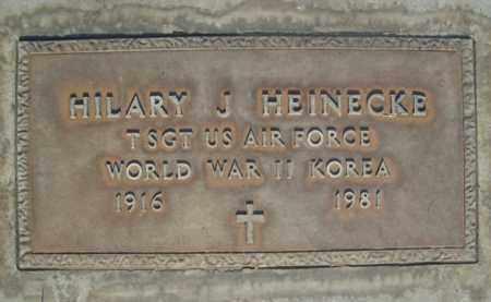 HEINECKE, HILARY JOSEPH - Sutter County, California | HILARY JOSEPH HEINECKE - California Gravestone Photos