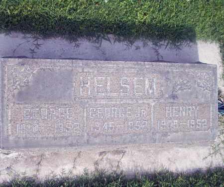 HELSEM, GEORGE THOMAS - Sutter County, California   GEORGE THOMAS HELSEM - California Gravestone Photos