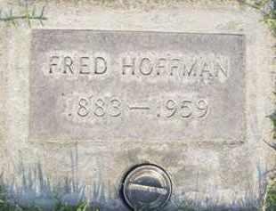 HOFFMAN, FRED - Sutter County, California | FRED HOFFMAN - California Gravestone Photos