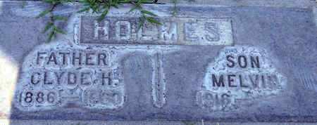 HOLMES, CLYDE H. - Sutter County, California   CLYDE H. HOLMES - California Gravestone Photos