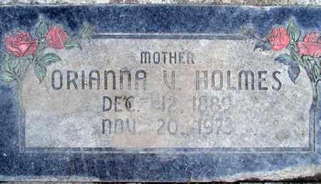 HOLMES, ORIANNA VANDELIA - Sutter County, California   ORIANNA VANDELIA HOLMES - California Gravestone Photos