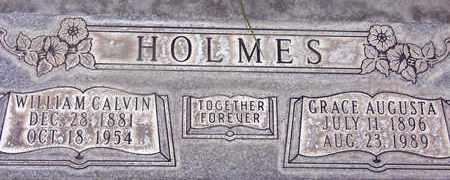 HOLMES, WILLIAM CALVIN - Sutter County, California | WILLIAM CALVIN HOLMES - California Gravestone Photos