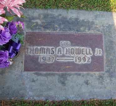 HOWELL JR., THOMAS ALVIN - Sutter County, California | THOMAS ALVIN HOWELL JR. - California Gravestone Photos