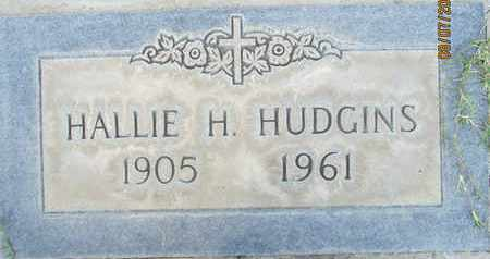HUDGINS, HALLIE HAROLD - Sutter County, California | HALLIE HAROLD HUDGINS - California Gravestone Photos
