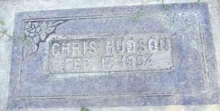 HUDSON, CHRISTOPHER - Sutter County, California | CHRISTOPHER HUDSON - California Gravestone Photos