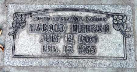 HUDSON, HAROLD - Sutter County, California | HAROLD HUDSON - California Gravestone Photos