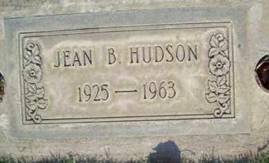 HUDSON, JEAN BEVERLY - Sutter County, California | JEAN BEVERLY HUDSON - California Gravestone Photos