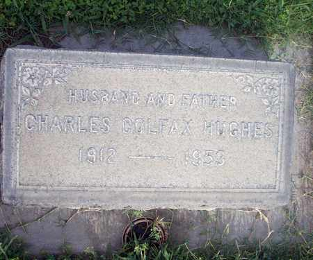 HUGHES, CHARLES COLFAX - Sutter County, California | CHARLES COLFAX HUGHES - California Gravestone Photos