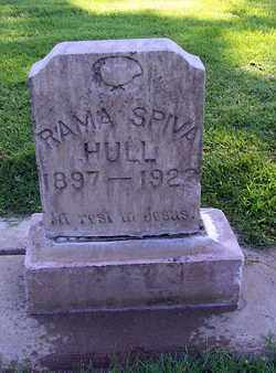 HULL, RAMA SPIVA - Sutter County, California | RAMA SPIVA HULL - California Gravestone Photos