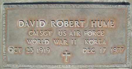 HUME, DAVID ROBERT - Sutter County, California | DAVID ROBERT HUME - California Gravestone Photos