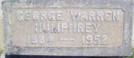 HUMPHREY, GEORGE WARREN - Sutter County, California   GEORGE WARREN HUMPHREY - California Gravestone Photos