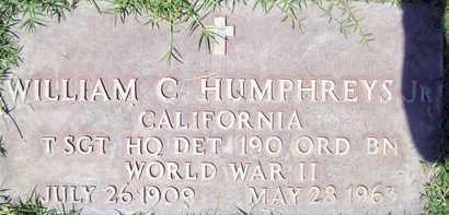 HUMPHREYS, JR., WILLIAM C. - Sutter County, California | WILLIAM C. HUMPHREYS, JR. - California Gravestone Photos