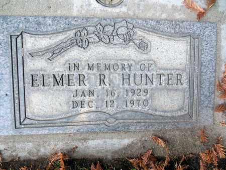 HUNTER, ELMER RAYMOND - Sutter County, California | ELMER RAYMOND HUNTER - California Gravestone Photos