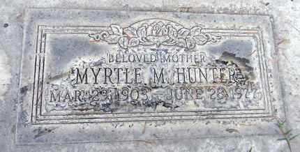 HUNTER, MYRTLE MAE - Sutter County, California   MYRTLE MAE HUNTER - California Gravestone Photos