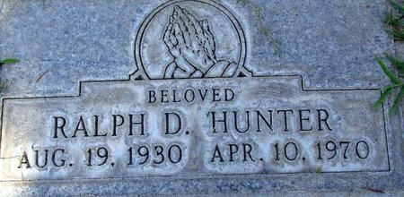 HUNTER, RALPH DANIEL - Sutter County, California | RALPH DANIEL HUNTER - California Gravestone Photos