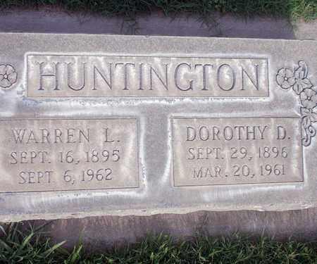 HUNTINGTON, WARREN L. - Sutter County, California | WARREN L. HUNTINGTON - California Gravestone Photos