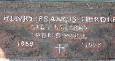 HURDLE, HENRY FRANCIS - Sutter County, California | HENRY FRANCIS HURDLE - California Gravestone Photos