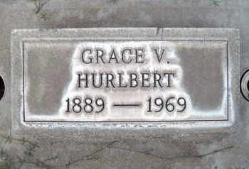 HURLBERT, GRACE V. - Sutter County, California | GRACE V. HURLBERT - California Gravestone Photos
