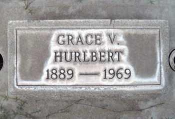 HURLBERT, GRACE V. - Sutter County, California | GRACE V. HURLBERT - California Gravestone Photos