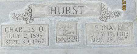 HURST, EDNA C. - Sutter County, California | EDNA C. HURST - California Gravestone Photos
