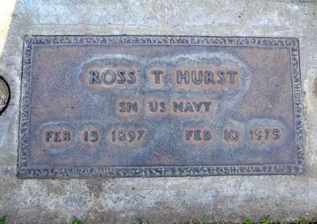 HURST, ROSSIE THEOFFICE - Sutter County, California | ROSSIE THEOFFICE HURST - California Gravestone Photos
