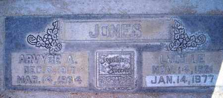 JONES, ARVYCE A. - Sutter County, California | ARVYCE A. JONES - California Gravestone Photos