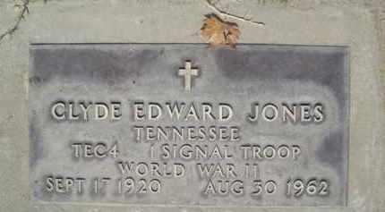 JONES, CLYDE EDWARD - Sutter County, California | CLYDE EDWARD JONES - California Gravestone Photos