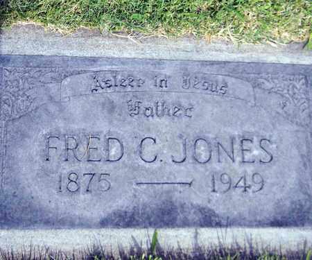 JONES, FRED CLAY - Sutter County, California | FRED CLAY JONES - California Gravestone Photos