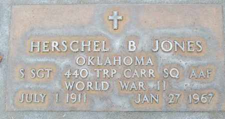 JONES, HERSCHEL B. - Sutter County, California | HERSCHEL B. JONES - California Gravestone Photos