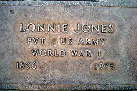 JONES, LONNIE - Sutter County, California | LONNIE JONES - California Gravestone Photos