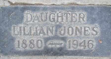 JONES, LILLIAN F. - Sutter County, California | LILLIAN F. JONES - California Gravestone Photos