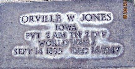 JONES, ORVILLE W. - Sutter County, California   ORVILLE W. JONES - California Gravestone Photos