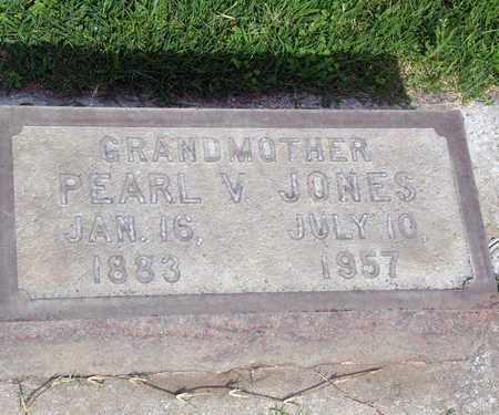 JONES, PEARL V. - Sutter County, California | PEARL V. JONES - California Gravestone Photos