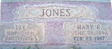 JONES, MARY R. - Sutter County, California | MARY R. JONES - California Gravestone Photos