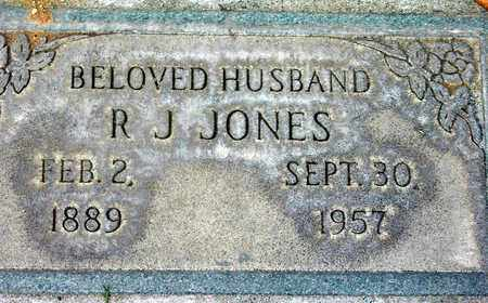 JONES, R. J. - Sutter County, California | R. J. JONES - California Gravestone Photos