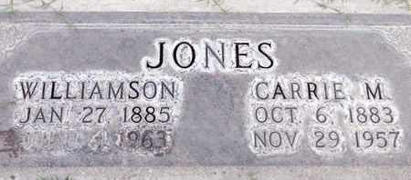 JONES, WILLIAMSON - Sutter County, California | WILLIAMSON JONES - California Gravestone Photos