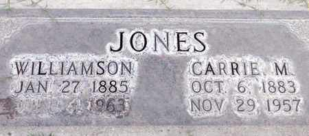 JONES, CARRIE MABEL - Sutter County, California | CARRIE MABEL JONES - California Gravestone Photos