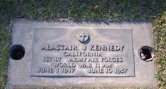 KENNEDY, ALASTAIR JOHN - Sutter County, California   ALASTAIR JOHN KENNEDY - California Gravestone Photos