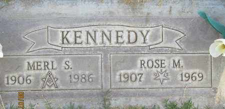 KENNEDY, MERL S. - Sutter County, California | MERL S. KENNEDY - California Gravestone Photos