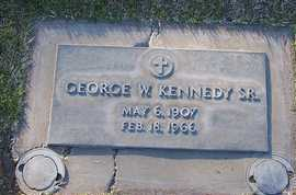 KENNEDY, SR., GEORGE W. - Sutter County, California | GEORGE W. KENNEDY, SR. - California Gravestone Photos