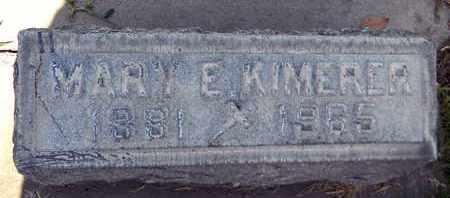 KIMERER, MARY E. - Sutter County, California | MARY E. KIMERER - California Gravestone Photos