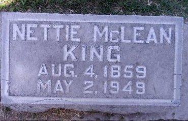 KING, NETTIE - Sutter County, California | NETTIE KING - California Gravestone Photos
